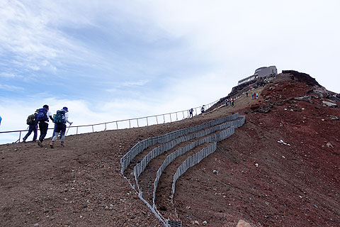 サイバーショットRX100M5とアクションカムで撮る富士山山頂『剣が峰』