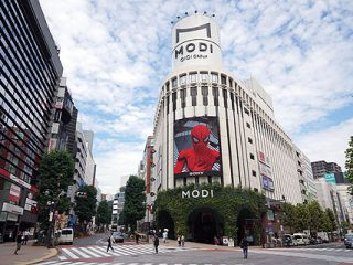 ソニースクエア渋谷プロジェクトのスパイダーマンイベントレポート