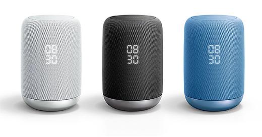 声で手軽に音楽再生・情報取得・対応機器操作が出来るソニー初Google アシスタント搭載スマートスピーカー『LF-S50G』新登場!