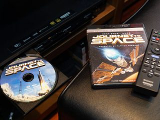 OLEDブラビアA1で観る4K UHD BDソフト『JOURNEY to SPACE』