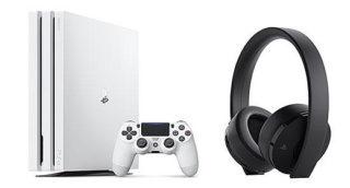 ソニーストアにて「PS4 Pro」の グレイシャー・ホワイトが販売再開!ワイヤレスヘッドホン最新モデルも登場!