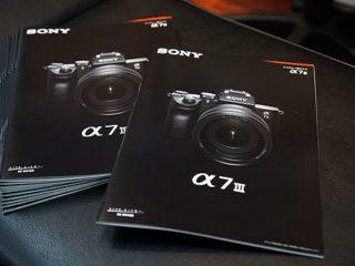 『α7III』の製品カタログを本日より配布