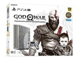 PS4 PROにクレイトスの武器をモチーフにした「ゴッド・オブ・ウォー」コラボモデルが登場!