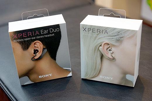 【レビュー】『Xperia Ear Duo』開梱&セッティングレポート
