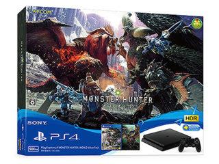 【数量限定】ソニーストアにて「PS4 MONSTER HUNTER: WORLD Value Pack」先行販売開始!