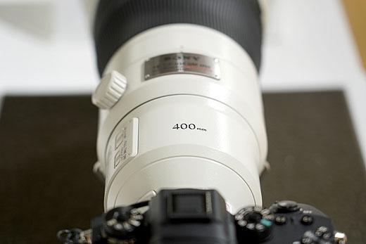 『SEL400F28GM』ソニーショールーム/ソニーストア銀座で先行展示スタート
