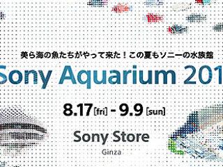 美ら海の魚たちがやって来る!ソニーの水族館「Sony Aquarium 2018」開催決定!