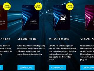 海外にて『VEGAS Pro 16』が発表になりました