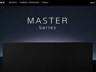 海外にてソニーブラビア最高峰モデル「マスターシリーズ」を発表