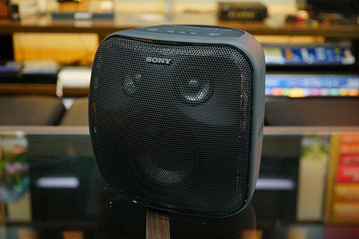 【フォトレビュー】重低音&大音量スマートスピーカー『SRS-XB501G』実機レポート