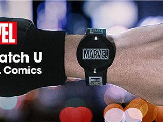 【新製品】ディスプレイウォッチ「FES Watch U」に『MARVEL Comics』別注モデルが新登場!