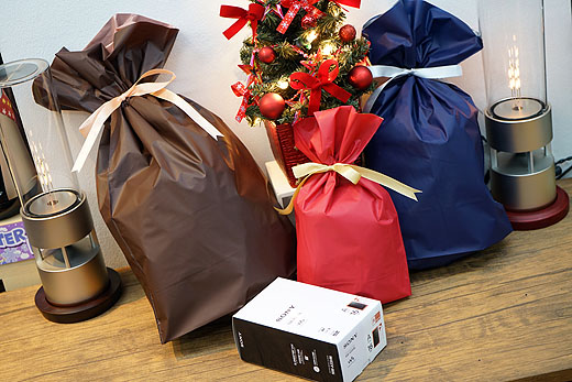 当店にて『クリスマスラッピング』無料プレゼントのお知らせ