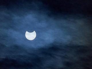 SEL100400GMで撮る『部分日食2019 その1』
