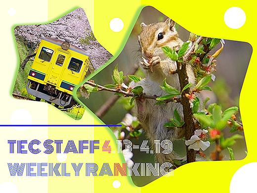 【ランキング】注目度UP!4/13~4/19までの一週間で人気を集めた記事TOP7