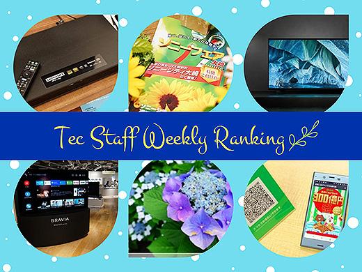 【ランキング】注目度UP!5/18~5/24までの一週間で人気を集めた記事TOP7