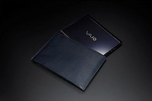 【数量限定】VAIO 勝色レザーPCケース発売