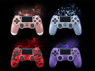 【数量限定】PS4のワイヤレスコントローラー『DUALSHOCK4』に新たなカラーバリエーション4色が新登場!