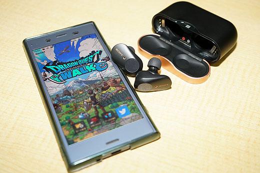 【レビュー】ソニー完全ワイヤレス『WF-1000XM3』で楽しむ『ドラゴンクエストウォーク』