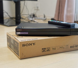 【レビュー】新型4K対応BDレコーダー『BDZ-FBT3000』自宅セッティングレポート