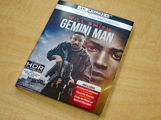 史上最強映画ソフト『GEMINI MAN』輸入盤が到着