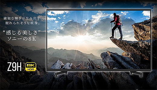 8k ソニー ソニーの8K BRAVIAを体感!4K超えの超高解像映像にうなる|試用レポート