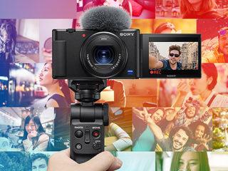 【新製品】美肌機能搭載!素早いフォーカス移動で商品レビューやメイクアップ動画にもおすすめ!デジタルカメラ『VLOGCAM  ZV-1』発表!