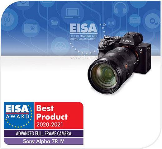 """ソニーの""""α""""関連製品「α7R IV」「SEL200600G」「SEL20F18G」や「VLOGCAM ZV-1」「Xperia 1 II」が『EISAアワード』を受賞"""