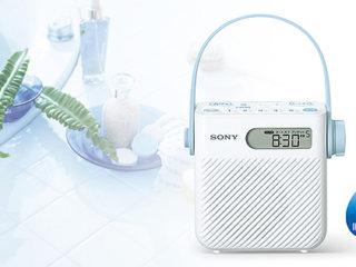 【プライスダウン】お風呂やキッチンでFM/AMラジオを楽しめる防滴仕様のシャワーラジオ『ICF-S80』が980円値下がりへ