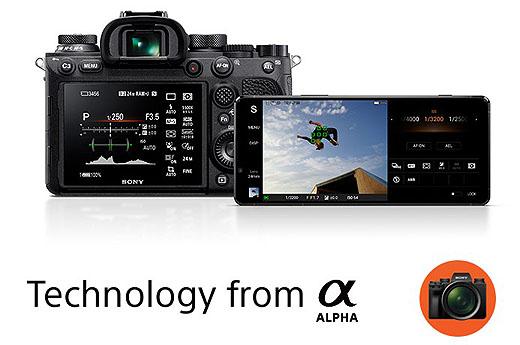 海外サイトでのスマートフォン『Xperia 1 II』製品案内