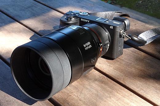 『LA-EA5』と500mmレフレックスレンズの野鳥撮影