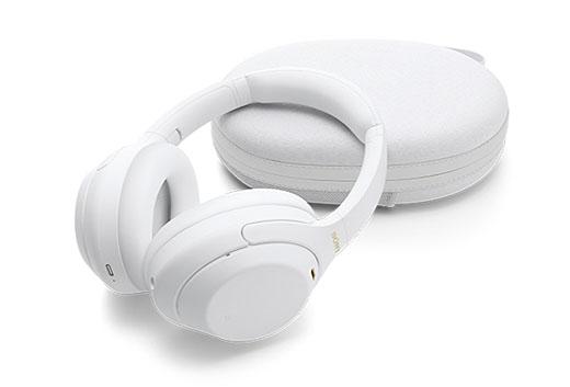 【新製品】最強ノイキャンヘッドホン『WH-1000XM4』に新色サイレントホワイト登場