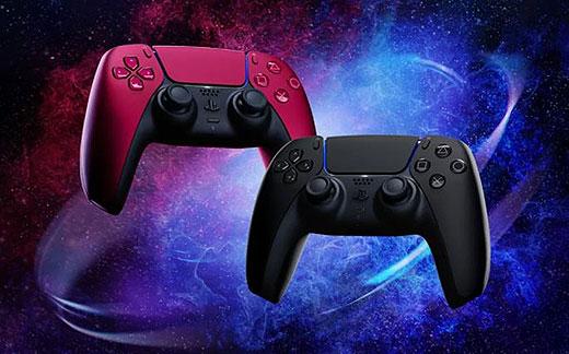【PS5】DualSense ワイヤレスコントローラーに新色『コズミック レッド』と『ミッドナイト ブラック』登場!先行予約開始!