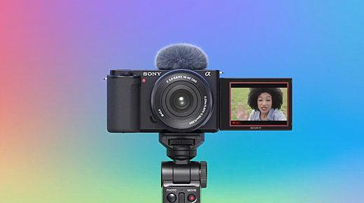 レンズ交換式Vlogカメラ『ZV-E10』発表 価格は驚異の78,000円!