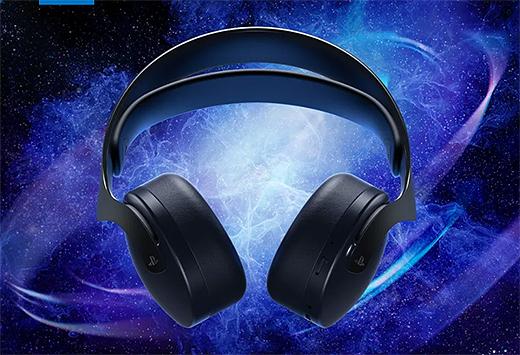 PS5の3Dオーディオ対応『PULSE 3D ワイヤレスヘッドセット』に新色『ミッドナイト ブラック』登場!ソニーストアにて先行予約開始!