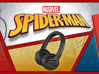 ウォークマン&ヘッドホン&スピーカーに『MARVEL Edition』登場!人気シリーズ『スパイダーマン』を刻印!